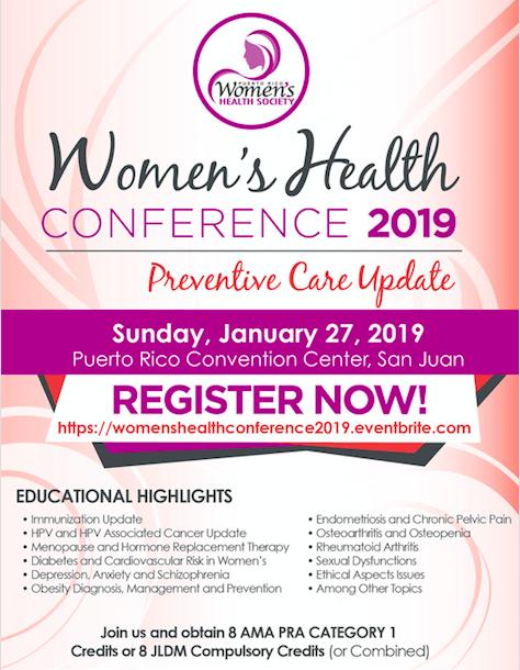 Women's Health Conference 2019: Preventive Care Update